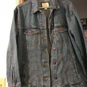Jackets & Blazers - Oversized Jean Jacket